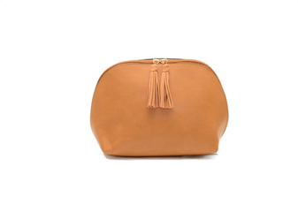 Baby Audrey Camel Makeup bag