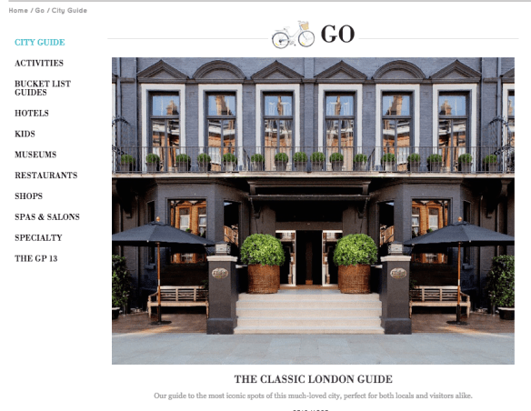 Goop City Guides