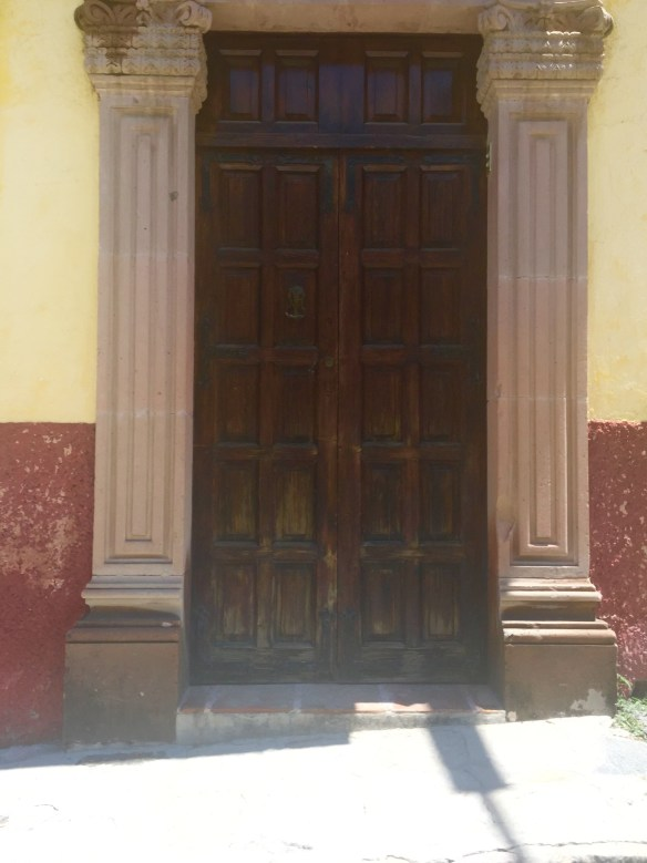 Doors of San Miguel by The Potted Boxwood 45