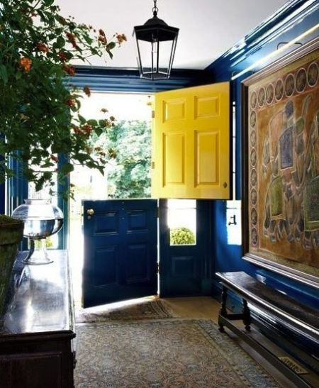 Dutch door via AD