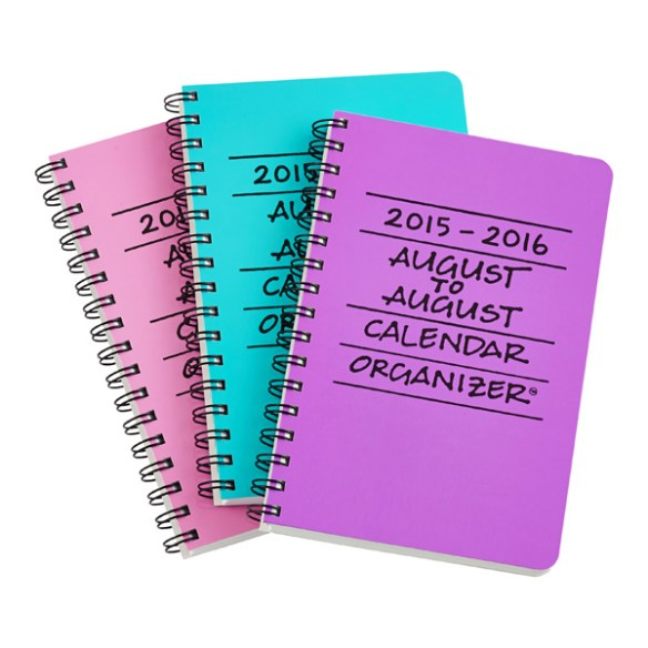 August to August Planners