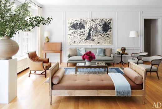 Daybed in Nina Garcia's Manhattan Home via AD