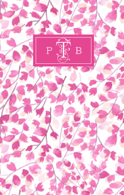 Pink May Books Notebook