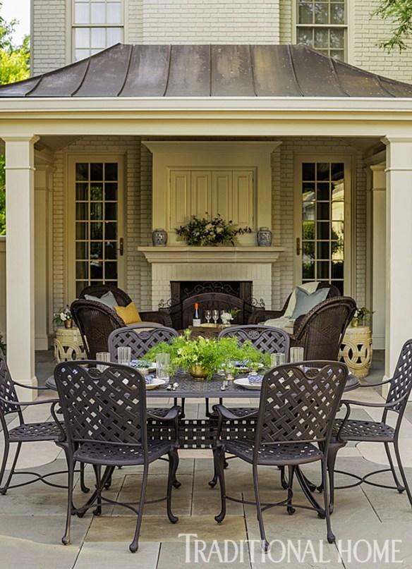 Douglas Hoerr designed garden via Traditional Home 5