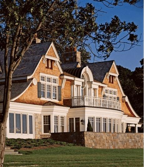 Gorgeous Shingle Style Home via AD