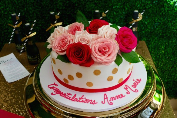 Bridal Shower Cake from Sweet Divas Bakery