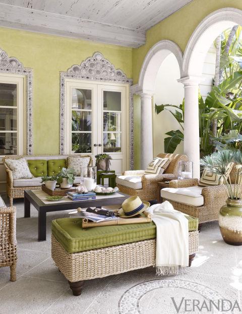 Palm Beach Home via Veranda 10