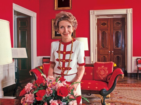 Nancy Reagan White House via AD