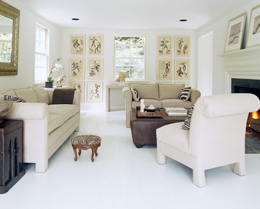 Beautiful white cape cod home via Elle Decor 4