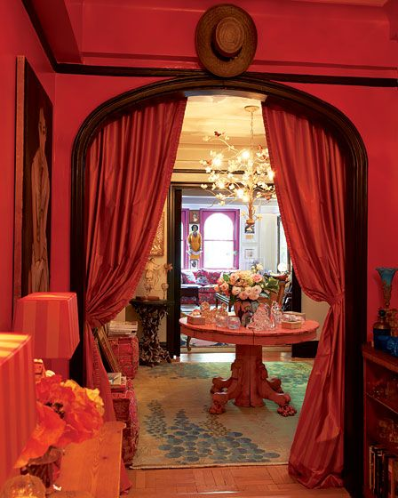 Gloria Vanerbilts apartment via New York Magazine