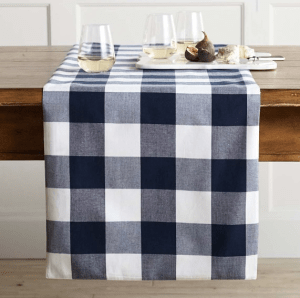 Buffalo Check Tablecloth from Williams Sonoma