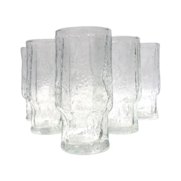 Mid Century High Ball Glasses from Chairish