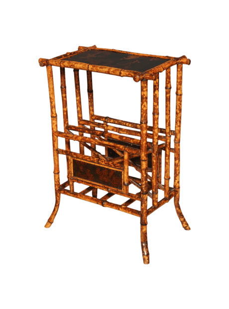 Anglo-Japanese Bamboo Side Table The HighBoy