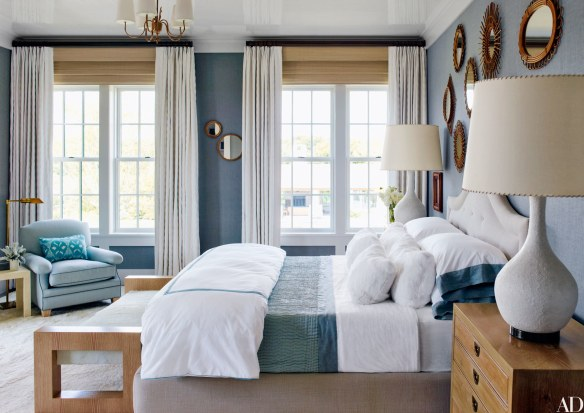 bedroom by Steven Gambrel via AD