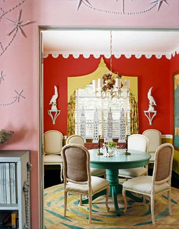 red-dining-room-via-house-beautiful