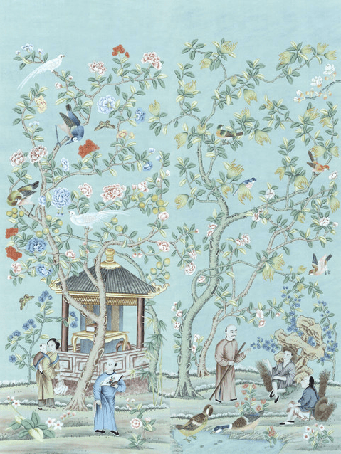 Houzz Chinoiserie Panel