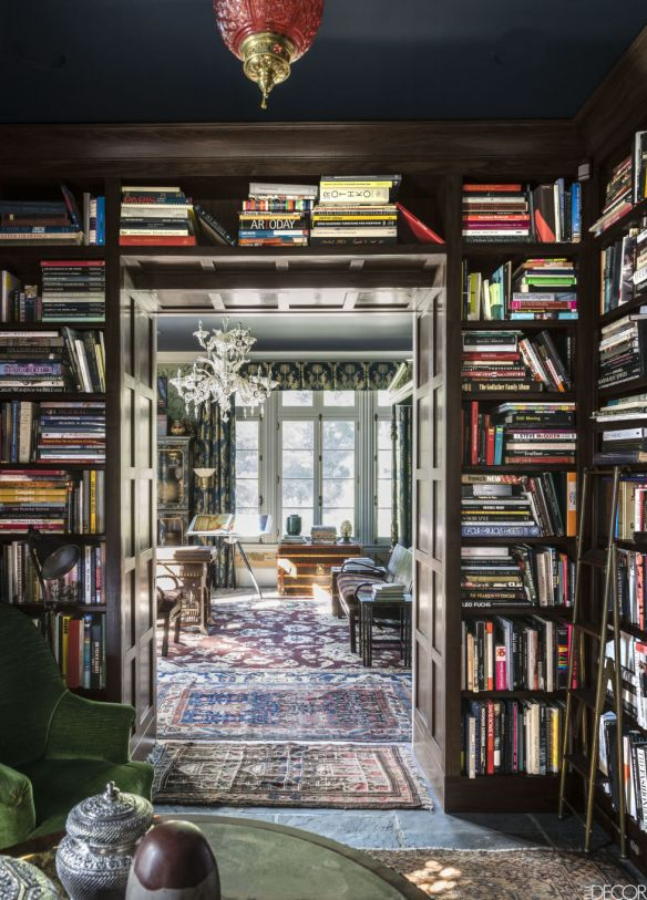 Robert Duffy Ferncliff Estate via Elle Decor. 4