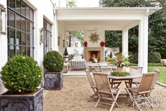 Atlanta Home of Suzanne Kasler via Atlanta Homes and Lifestyles