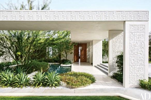 Michael S Smith Palm Springs Home via AD