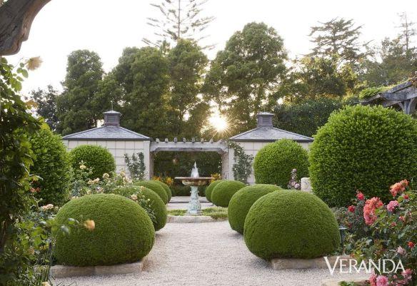 Oprah Winfrey Garden via Veranda