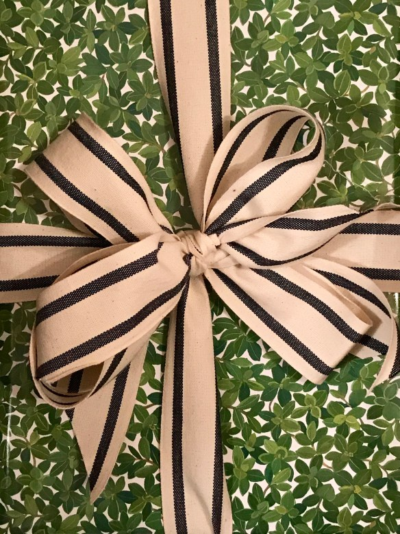 Caspari gift wrap for The Potted Boxwood 11