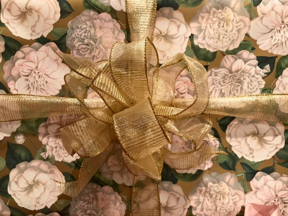 Caspari gift wrap for The Potted Boxwood 19