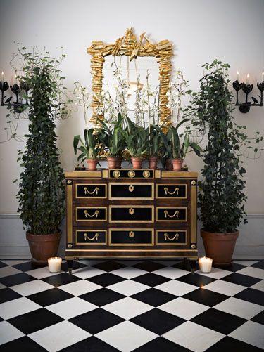 Slatkin Foyer via Harpers Bazaar
