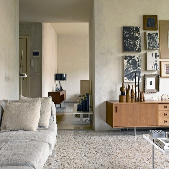 Terrazzo floors via Elle Decoration UK