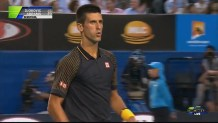 AUS OPEN 2015 – Djokovic v Abrams Semi-Final