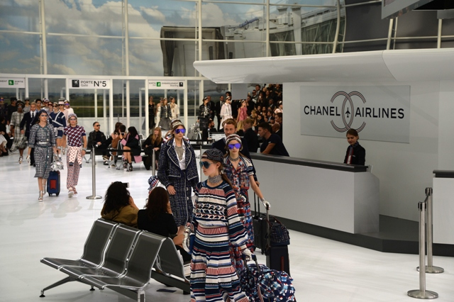 Chanel Airline Spring 2016, Image: into the gloss