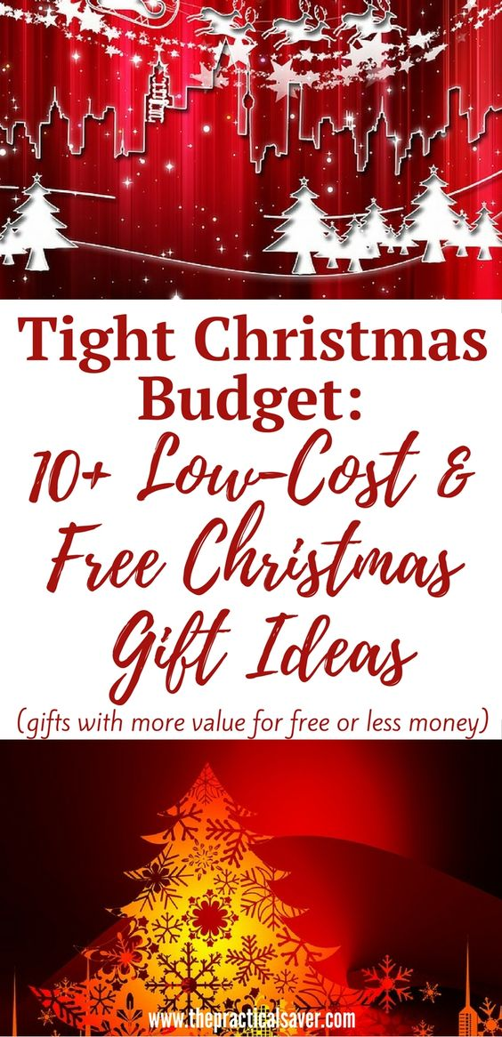 Tight christmas budget 10 low cost and free christmas for Christmas present ideas on a budget