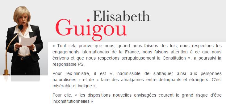 Elysabeth Guigou en 2010 - ThePrairie.fr !