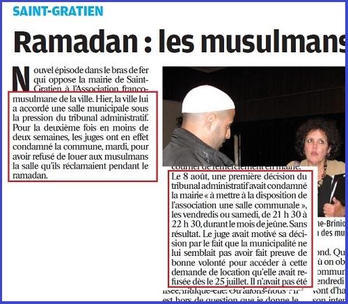 Saint-Gratien, mairie condamnée par le Tribunal administratif (2011) - ThePrairie.fr !