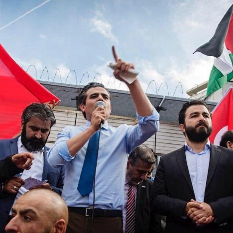 Tunahan Kuzu, soutien de la Palestine - ThePrairie.fr !