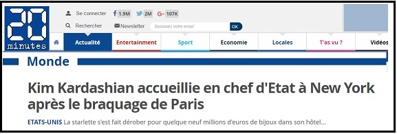 Kim Kardashain accueillie en chef d'Etat - ThePrairie.fr !