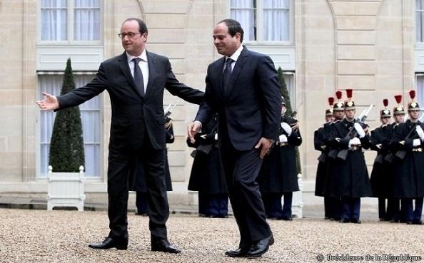 Hollande et Sissi - ThePrairie.fr !