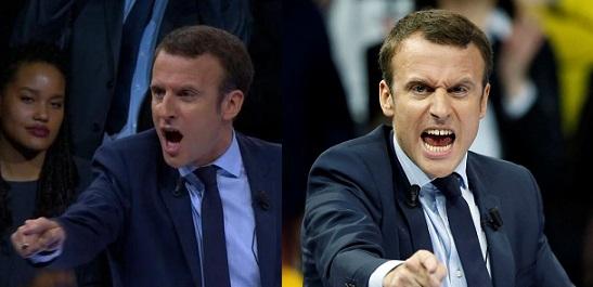 Macron en transe - ThePrairie.fr !