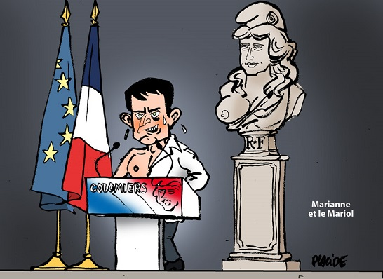 Valls et Marianne, Placide - ThePrairie.fr !