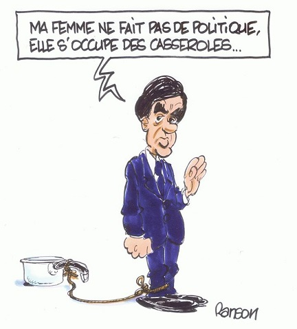Fillon - Ma femme s'occupe des casseroles - ThePrairie.fr !