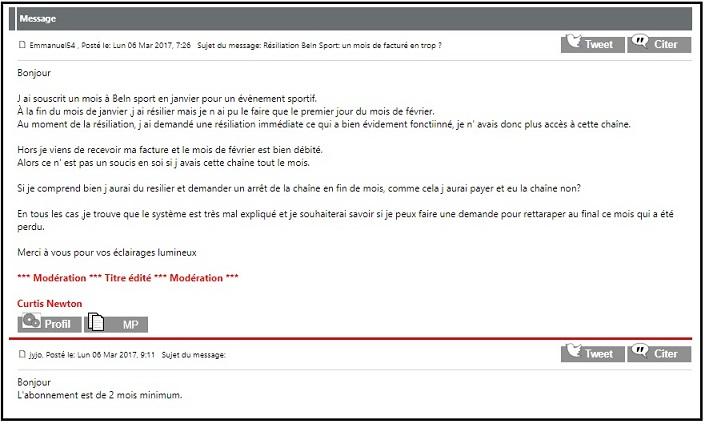 Reaction forum free - ThePrairie.fr !