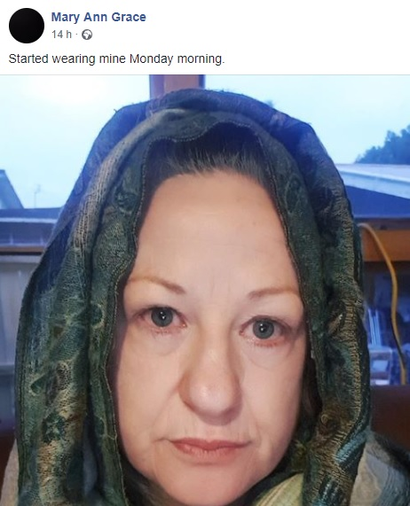 Mary - FB Wear a Headscarf Friday