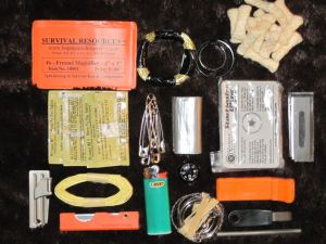Survival Kits attempt to address a wide spectrum of needs.