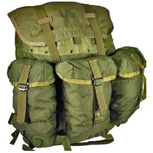 Military Surplus Alice Packs are the first Bug Out Bag for many because of cost and durability.