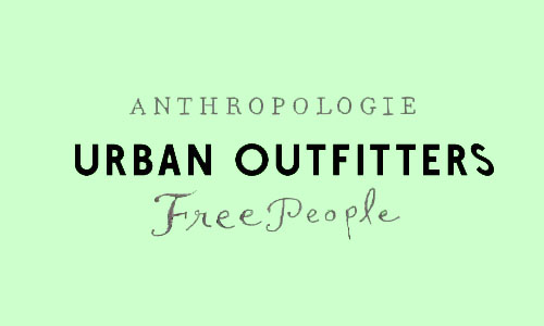 Urban Outfitters Anthropologie Free People Logo