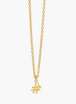 GorjanaHashtag Pendant Necklace