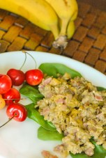 Bacon Banana Scrambled Eggs - www.ThePrimalDesire.com