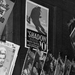 """Here's a close-up of """"The Shadow"""" promo poster from the previous image."""