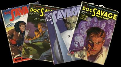 Doc Savage pulp magazines