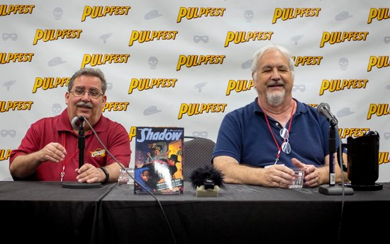 Tony Isabella, left, and Anthony Tollin