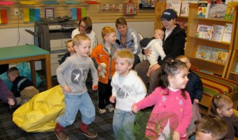 Dancing Away at Storytime